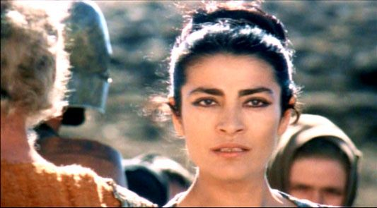 more eye inspiration; Irene Papas, the Trojan Women - 1971