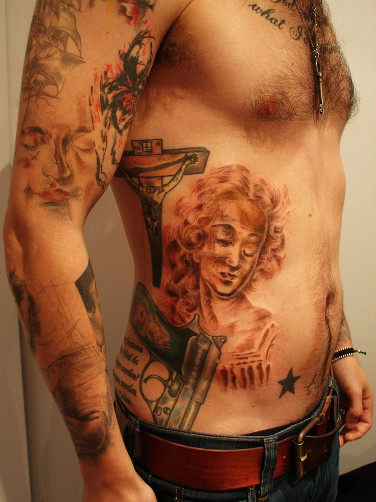 I love Biffy Clyro and Simon Neils tattoos!