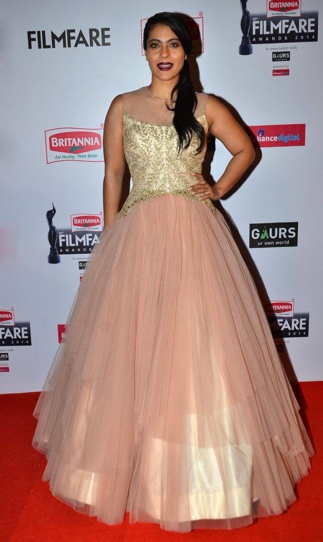 Kajol Designer Gown At Filmfare Awards - designer gown- celebrity ...