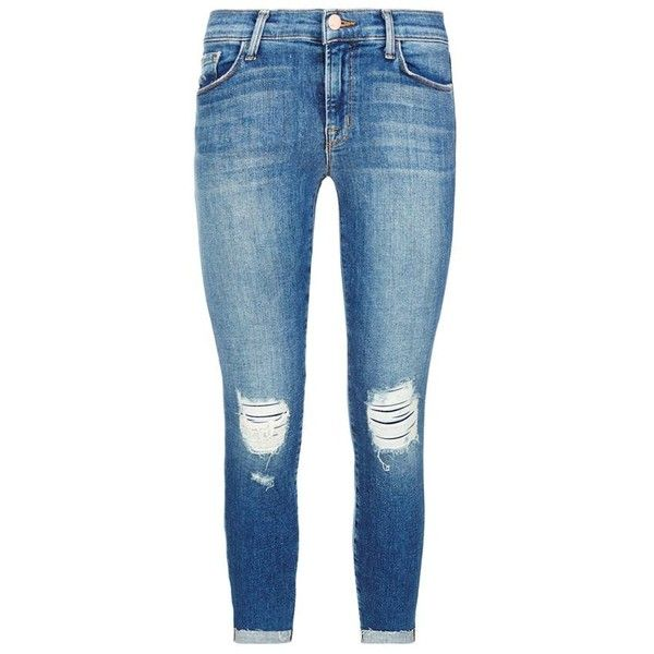 J Brand Distressed Mid-Rise Capri Jeans ($345) ❤ liked on Polyvore featuring - 388 Best My Polyvore Finds Images On Pinterest Grace O'malley
