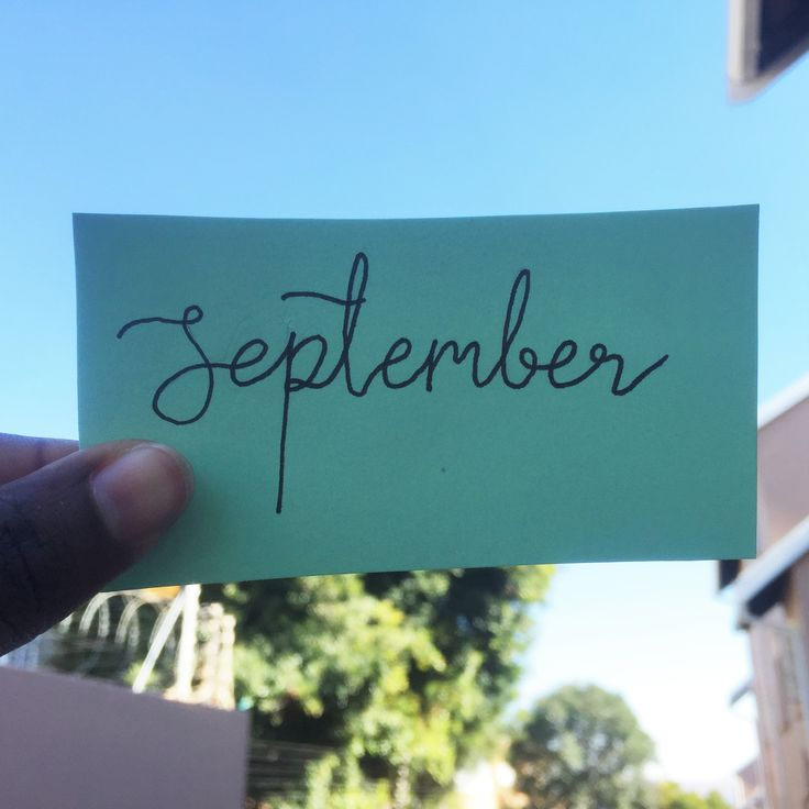 My September goals are now up on the blog!