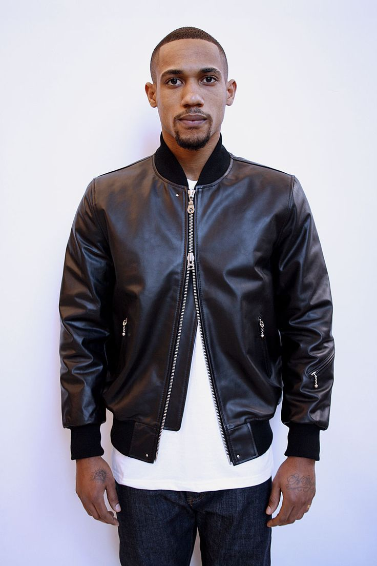 How To Wear Leather Bomber Jacket | Outdoor Jacket