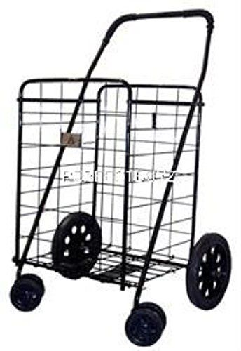 Jumbo Folding Grocery Basket Shopping Black Swivel Wheel Cart, USA, Brand Unique Imports  Collapsible Folds up for simple storage. 40 x 18 x 16 , 24 deep basket Swivel Heavy duty front wheels Weight: 14 pounds Exclusive From Unique Imports – Premium Quality New From are the improved line of carts featuring swivel …  Read More  http://industrialsupply.mobi/shop/jumbo-folding-grocery-basket-shopping-black-swivel-wheel-cart-usa-brand-unique-imports/