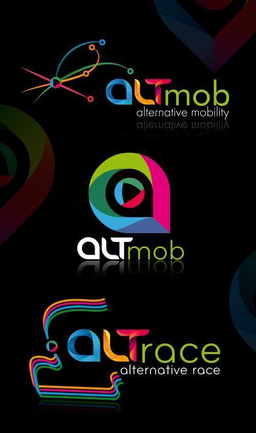ALTmob - ALTernative mobILITY - Arculatának tervezése - Arculattervezés, kreatív grafika, webdesign, könyv tördelés, DTP,