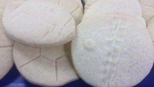 Sport Relief shortbread biscuits