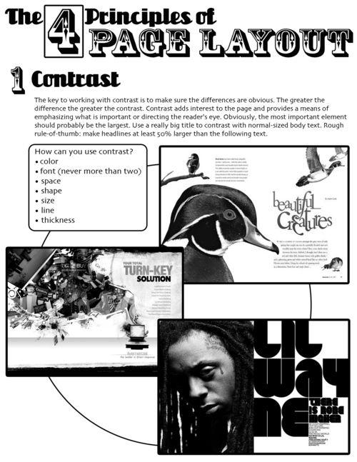 Design lesson - Magazine Double-Page Spread