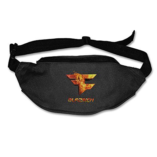 Clan Blaziken Logo Casual Waist Bag Adjustable Black -- Want additional info? Click on the image.