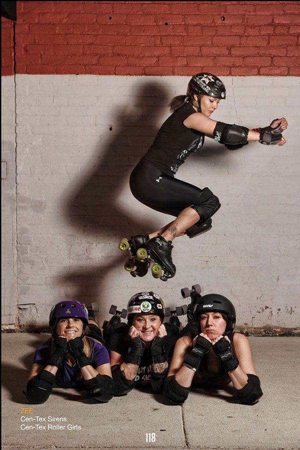 Roller Derby Portraits by Kyle Cassidy
