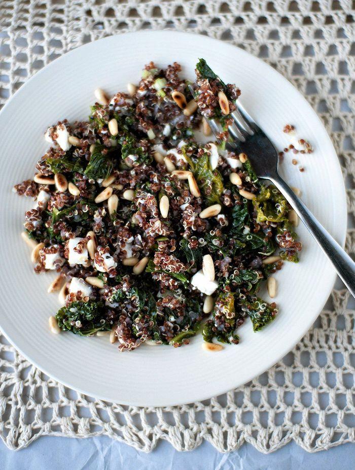 Kvinoa-lehtikaalipilahvi
