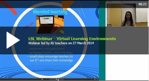 In this webinar it was explored how to build access to virtual learning spaces across the school and how to make the most of the materials beyond the school day: http://lsl.eun.org/snack17