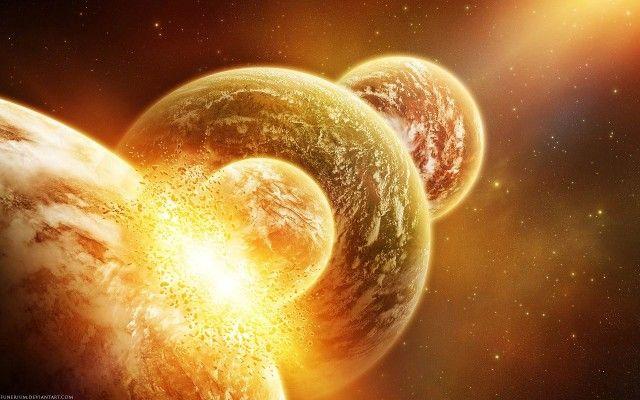 3D Planet Wallpaper Image Dekstop
