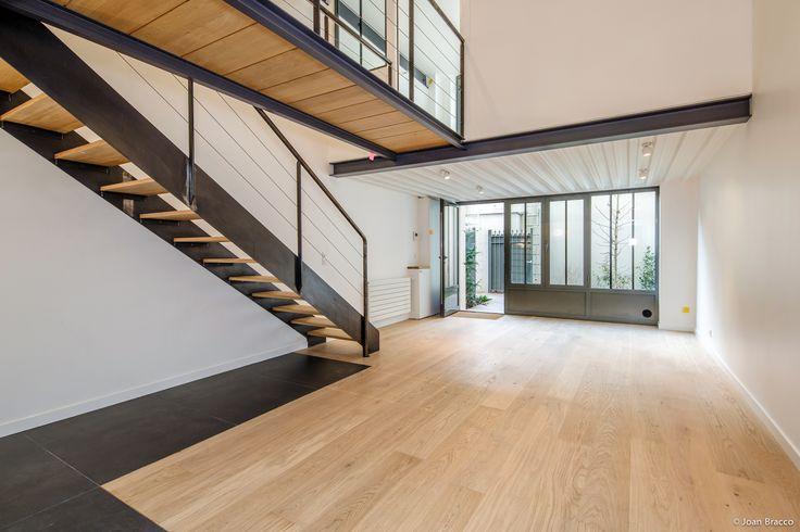 Réhabilitation d'une imprimerie en 17 ateliers Paris, France Maître d'ouvrage : SAS Esprimm Studio Vincent Eschalier - Architecture & Design © Joan Bracco