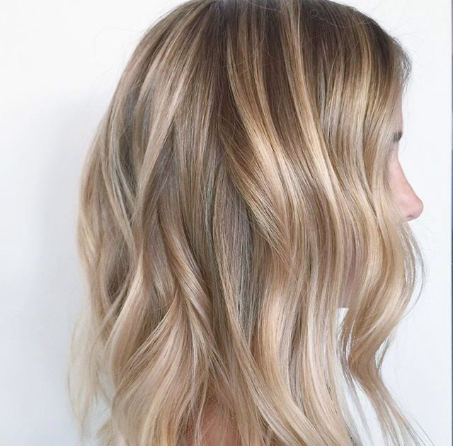 Image result for natural highlights on blonde hair