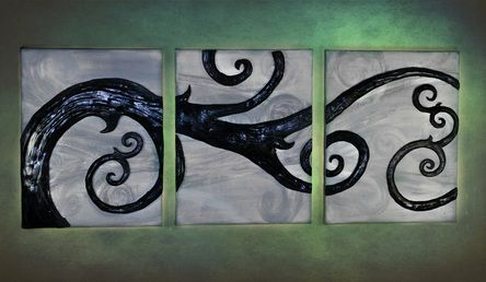 """Twisted in the Wind"" by CarrieAnn and Kathy Jones. Has a Nightmare Before Christmas feel to it...LOVE it"