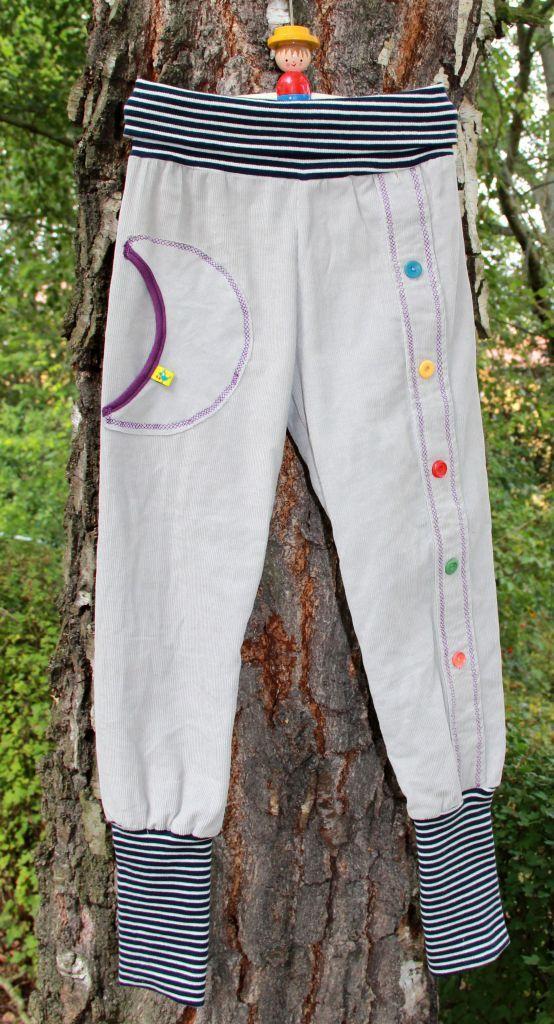 Upcycling: Kinderhose aus Herrenhemd - so schön geht das.