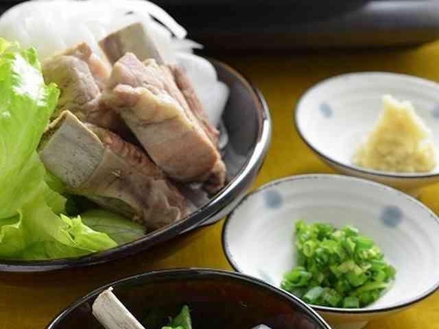 圧力鍋で簡単スペアリブの和風白湯スープ鍋の画像