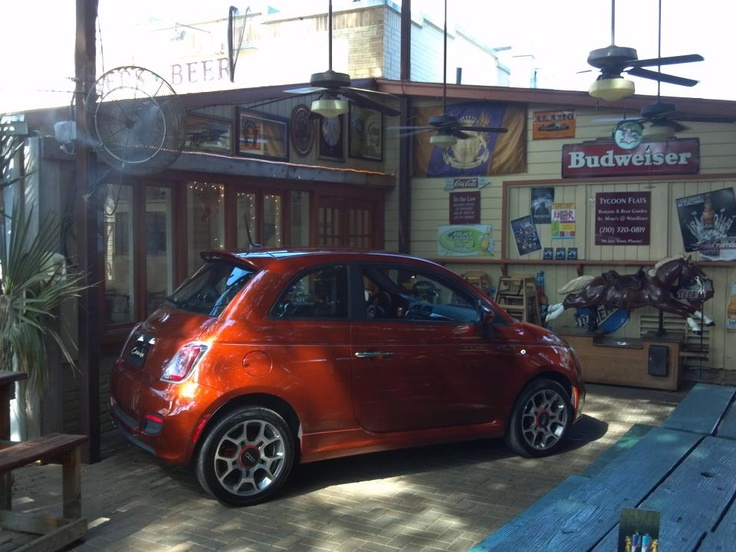 Our FIAT spotted at TYCOON FLATS!! Like if you're a fan!!