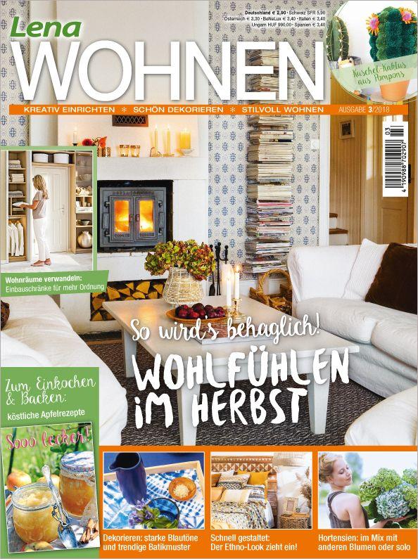 Zeitschrift Lew0318 Einrichten Gestalten Wohlfühlen Lena Wohnen
