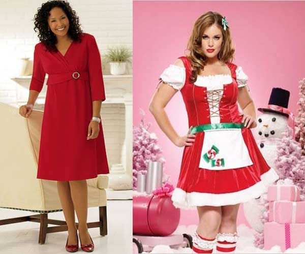 Plus Size Christmas Dresses For Women