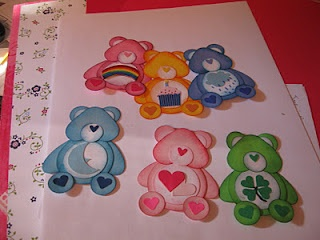 Care Bears Punch Art