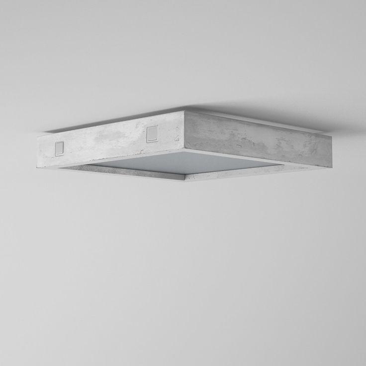Betonlamp Geo met beton-look is verkrijgbaar bij lampen winkel BLOQQ - BLOQQ.nl