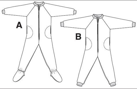 footed pajamas pattern free - Google Search