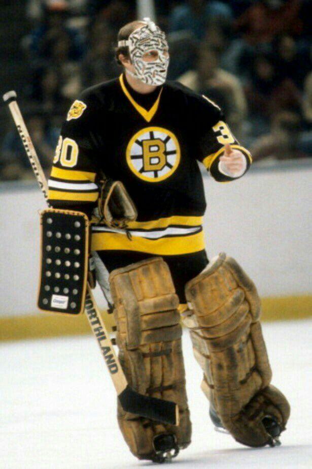 Gerry Cheevers | Boston Bruins | NHL | Hockey
