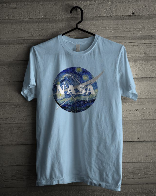 6ff18768db Nasa Van Gogh T-shirt in 2019