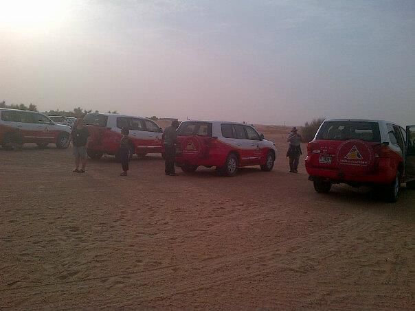 Dinner Dune Safari