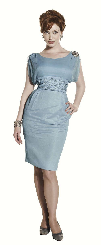 I must find this dress!  Worn by Christina Hendricks