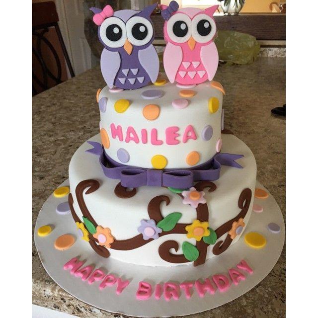 Best OWL CAKE Images On Pinterest Owl Cakes Birthday Ideas - Owl percy pig birthday cake