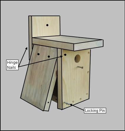 Simple Bird House Plans   Google Search