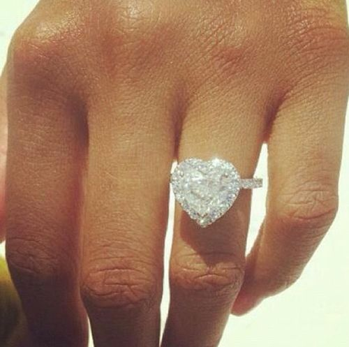 1000+ Ideas About Heart Wedding Rings On Pinterest