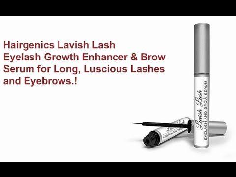 Hairgenics Lavish Lash Features - Eyelash Growth Enhancer & Brow Serum