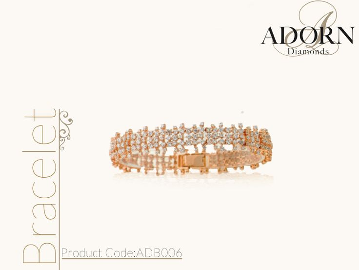 #bracelet #diamonds #adorn