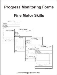 Progress Monitoring Forms Fine Motor Skills