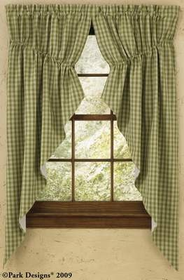 Image detail for -... swag curtain, country curtains, country style curtain, prairie curtain