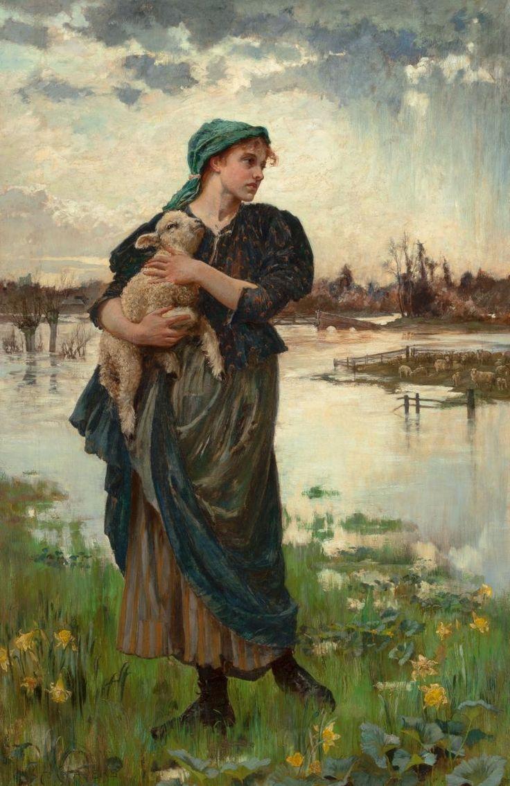 """Alice Mary Havers, """"The Faithful Shepherdess"""""""
