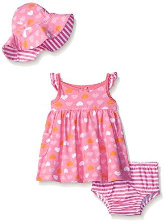 Gerber Baby Three-Piece Sundress, Diaper Co... by Gerber for $10.16 http://amzn.to/2grR8V2