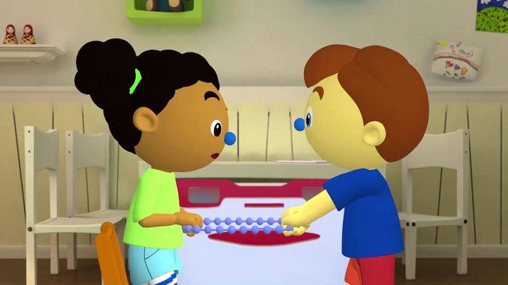 Anker Start 3D-animatie van Pompom, Zwemmen op zolder