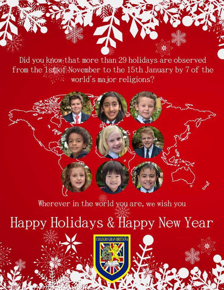 Happy Holidays from Colegio Gran Bretaña