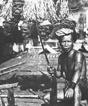 Dayak Warrior Headhunter, Borneo 2 - WAR HISTORY ONLINE
