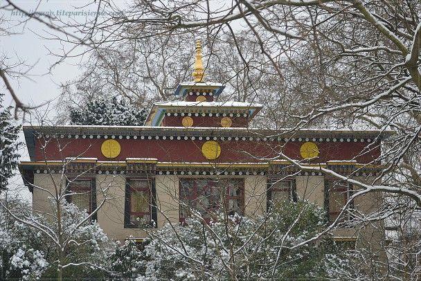 Un temple bouddhiste en plein paris