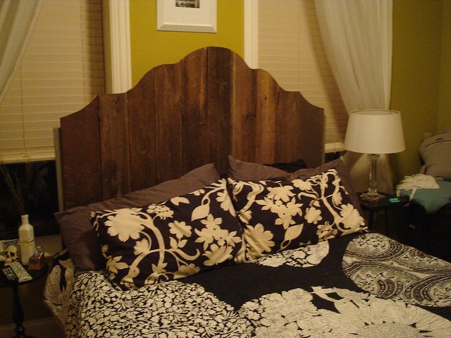 barnwood Handmade Headboard by rubberdanpants, via Flickr