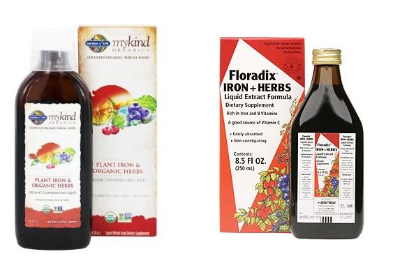 Vegan Iron - Low Iron?  Anemic? Vegans and Non-Vegans alike can suffer from Low-Iron and Anemia.  Make sure your diet is filled with iron rich plants like spinach, chickpeas, pumpkin seeds & black strap molasses.  You might also want to try herbal supplementation from these two non-constipating products! Holly Brown Fit