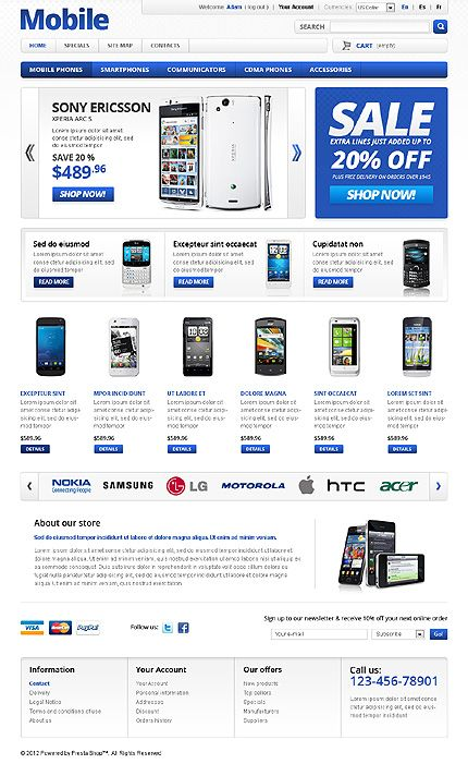 old prestashop layout - Szukaj w Google