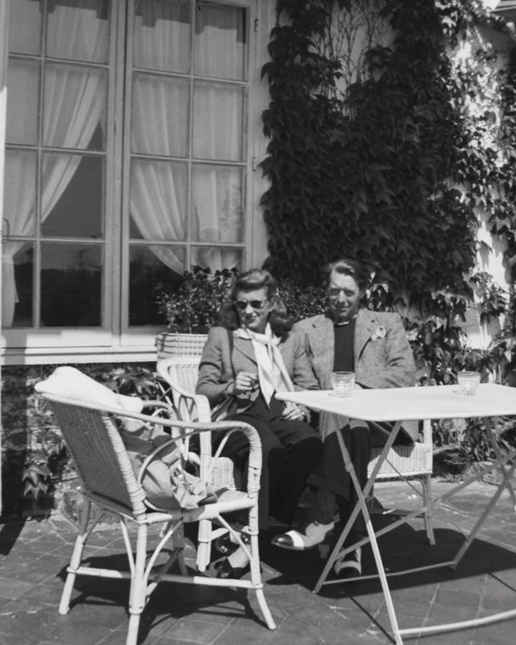 Kathleen Kennedy Cavendish with Lord Peter Fitzwilliam, Paris