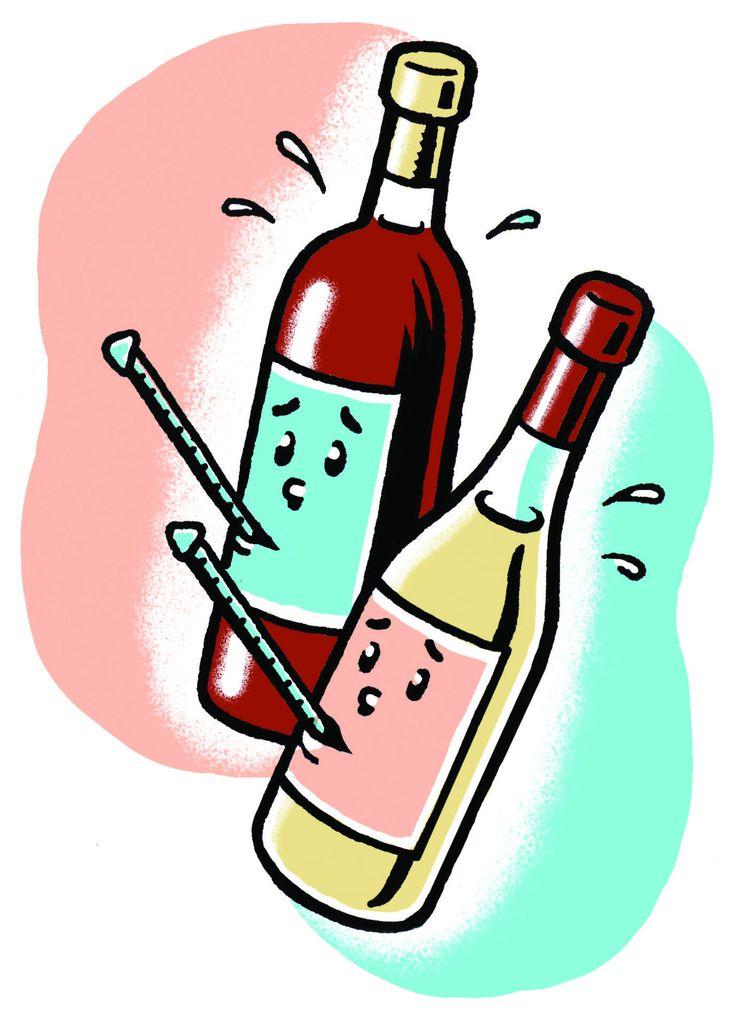 Taking Wine's Temperature