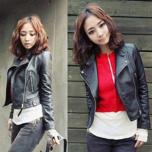 jaket kulit asli wanita, berbagai jenis dan desain menarik jaket wanita berbahan kulit terbaik.