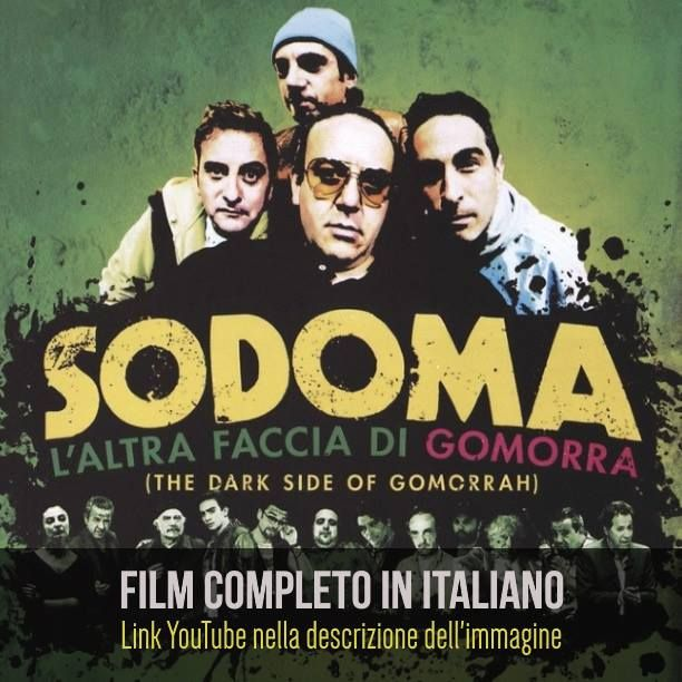 Sodoma L'altra Faccia Di Gomorra  Film Completo HD: https://www.youtube.com/watch?v=_snVToCPjWw&list=PLXaYyxQb69ea3Pey-WsqT1_cT_QxLxahU #Film #FilmCompleti #Documentari